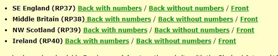 BBS Sheet List