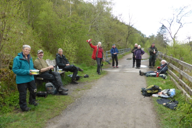 CLBG lunchtime at Smardale