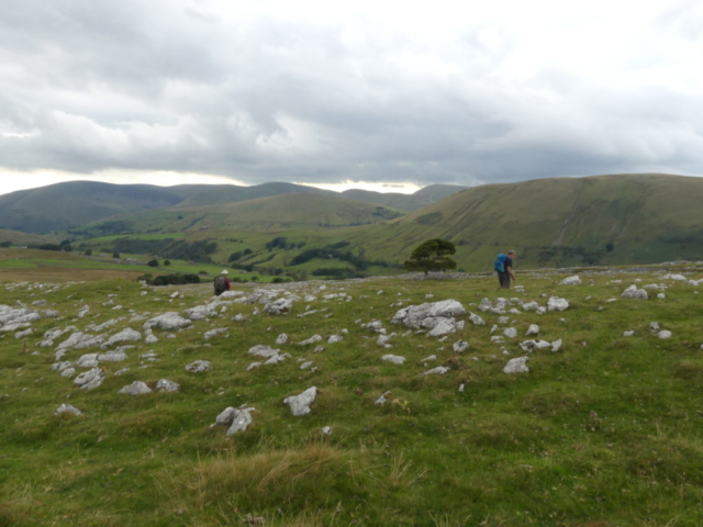 Fell End Clouds, looking towards the Howgills